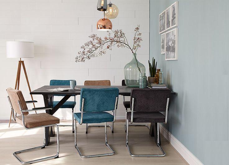 10x de mooiste interieurs met blauwe muren