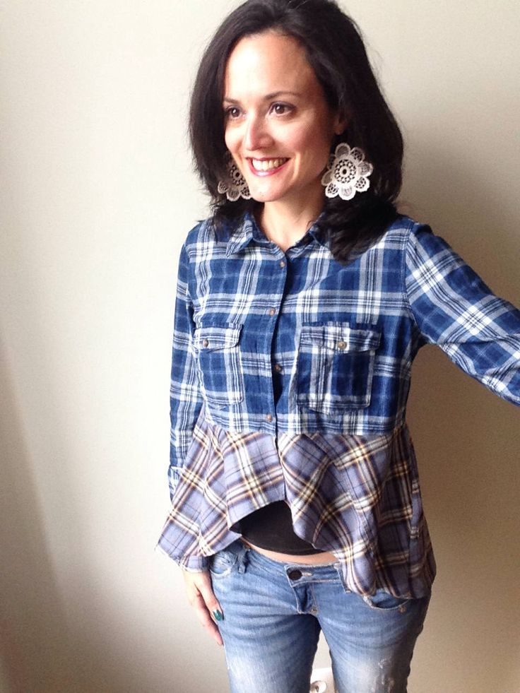 Excited to share the latest addition to my #etsy shop: Blue Plaid Peplum Shirt, Upcycled Clothing for Women, Peplum Top, Plaid Shirt, Gypsy Boho Top, Repurposed Shirts, Tartan Blouse, Sustainable