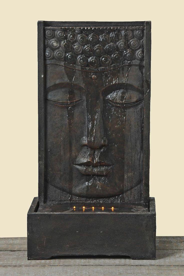 35 best images about fontaines amphores statues for Decoration exterieur bouddha