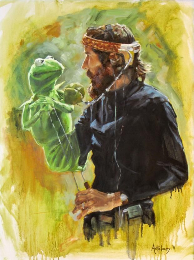 12 Wonderful Pieces of Jim Henson Fan Art  http://mentalfloss.com/article/52817/12-wonderful-pieces-jim-henson-fan-art