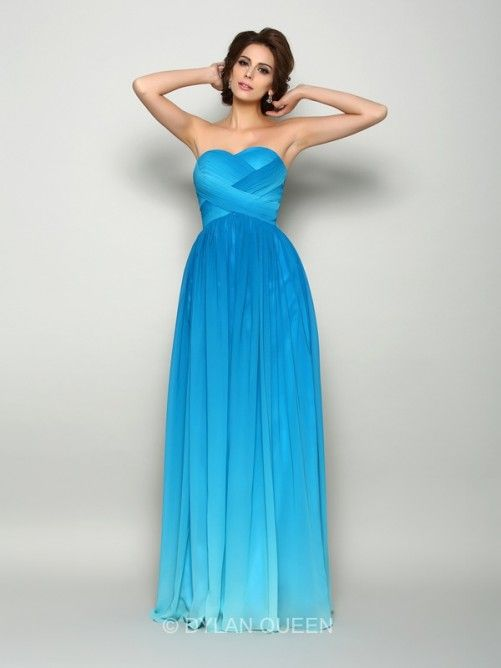 multi colors prom dress