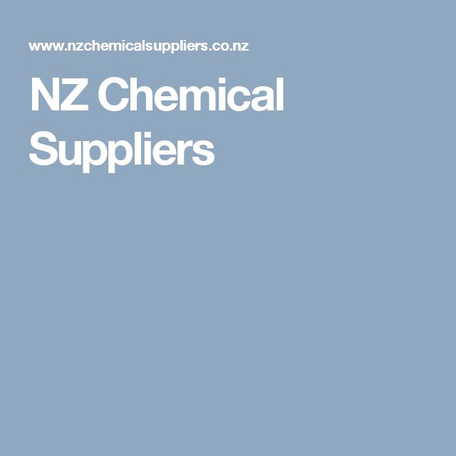 NZ Chemical Suppliers