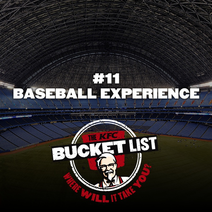 Repin this to be entered in a draw to win 1000 Try That experience dollars* for your #KFCBucketList! Full contest details: http://www.kfcbucketlist.ca/rules_pinterest.php KFC. So good.