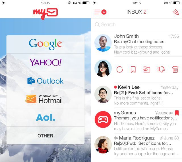 Mymail Meeting Notes App Application Android