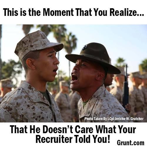 marine corps recruit training a look back essay This is what the daily life of a marine looks like every moment is infused with honor, courage and commitment.