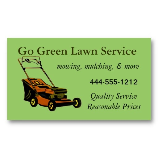 1000 images about lawn service business cards on for Lawn maintenance service