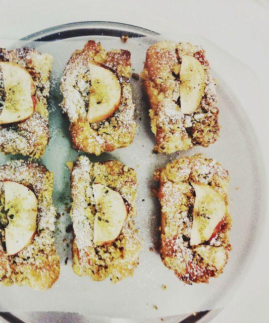 Rustic Apple Pistachio Walnut & Ricotta Mini Loafs only at The Silva Spoon, Cotton Tree QLD @alita_johnson