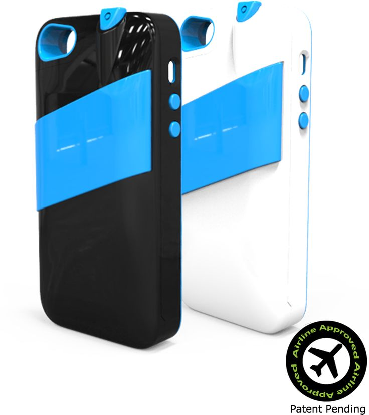 iphone case for travelers carrying perfumes and handsanitizer