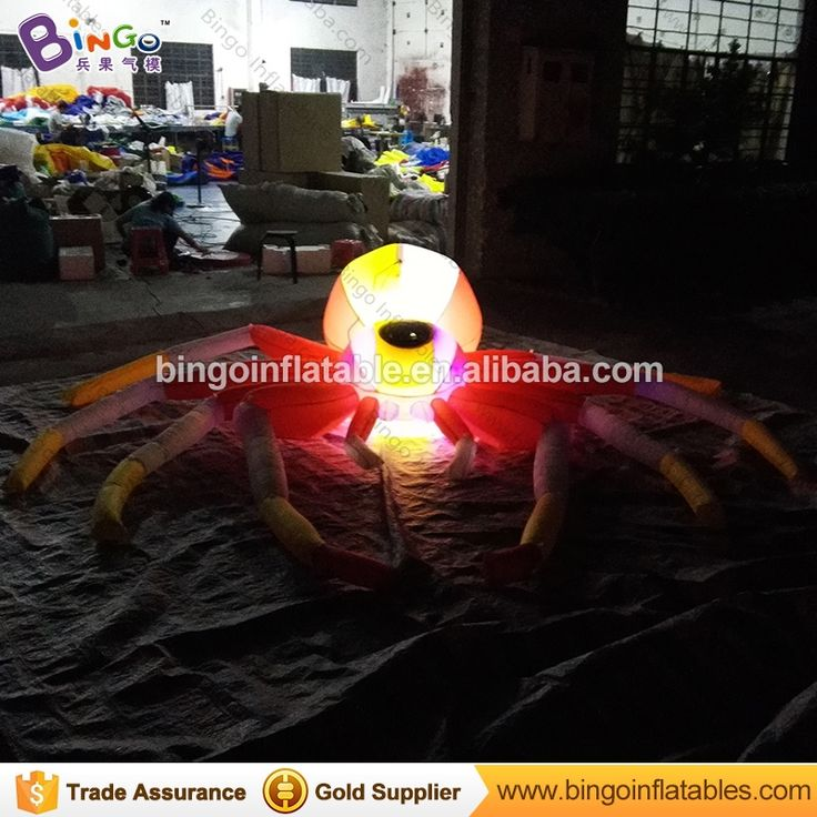 480.00$  Watch here - http://ali0cd.shopchina.info/1/go.php?t=32812394636 - Free Shipping Halloween inflatables giant inflatable spider 3 meters LED lighting decoration for outdoor inflatable toys  #shopstyle
