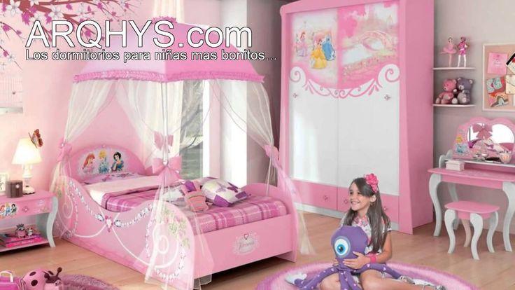 Cuartos infantiles de princesas dormitorio kids pinterest for Cuartos para ninas decorados