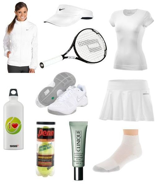Tennis ChecklistYouth Sports Outfits, Workout Outfit, Tennis White, Tennis Gears, Fashion, Tennis Outfit, Clothing Outfit, Tennis 2014, Plays Tennis