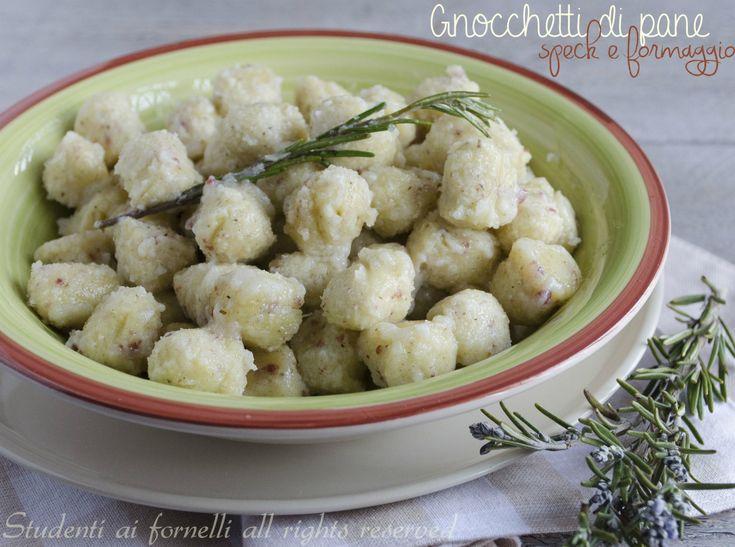 Gnocchetti di pane speck e formaggio
