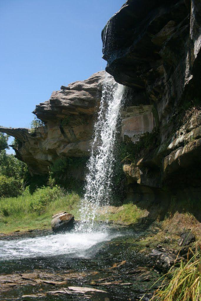 The Falls at River Falls near Amarillo in the Palo Duro ...
