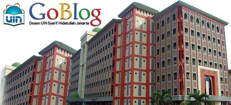 Go Blog - Dosen UIN Syarif Hidatullah Jakarta