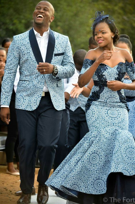 Latest African Couple S Outfit Prom Dress African