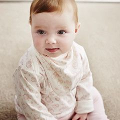 baby girl pink long sleeved top £13.00 Free delivery & gift wrap to mainland UK Team with our Rompers Baby grows Bibs Hats Blankets and Leggings for a woodland outfit #babygirl #babyclothes