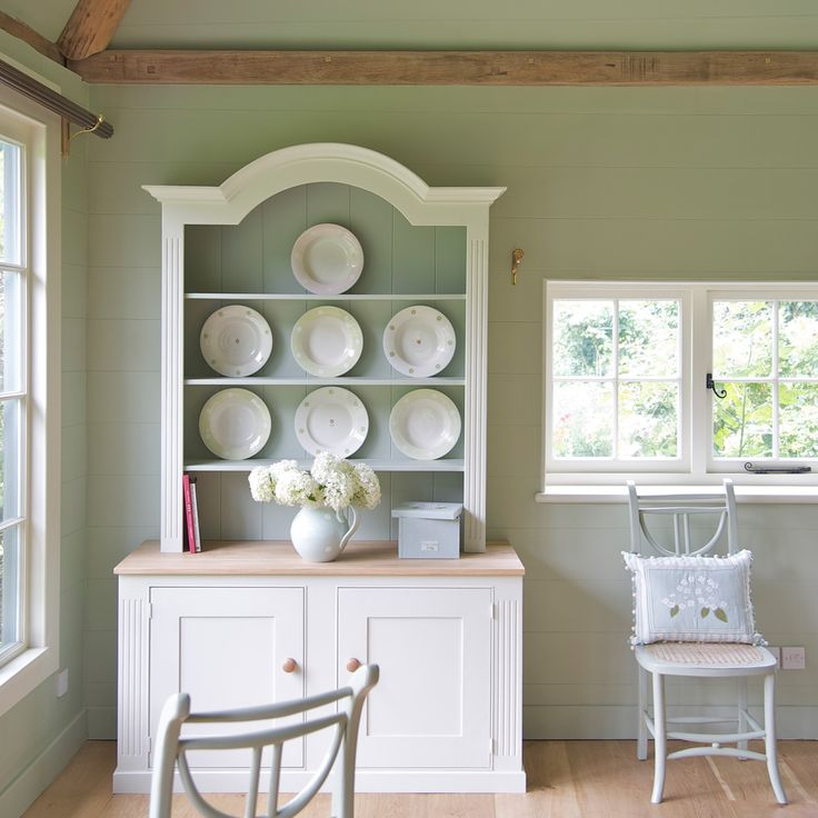 Duck egg paint susie watson designs i love this color for Duck egg dining room ideas