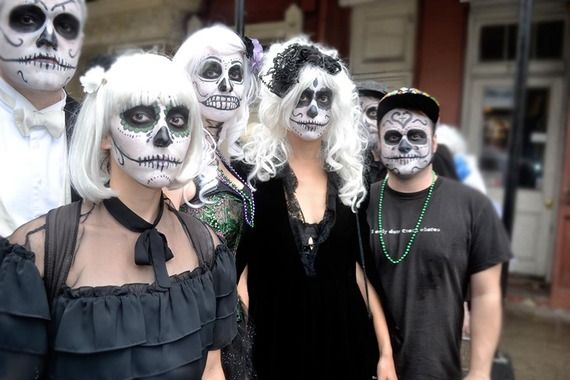 New Orleans is a strange, dichotomous city. For every Mardi Gras, Christmas, or #Halloween.