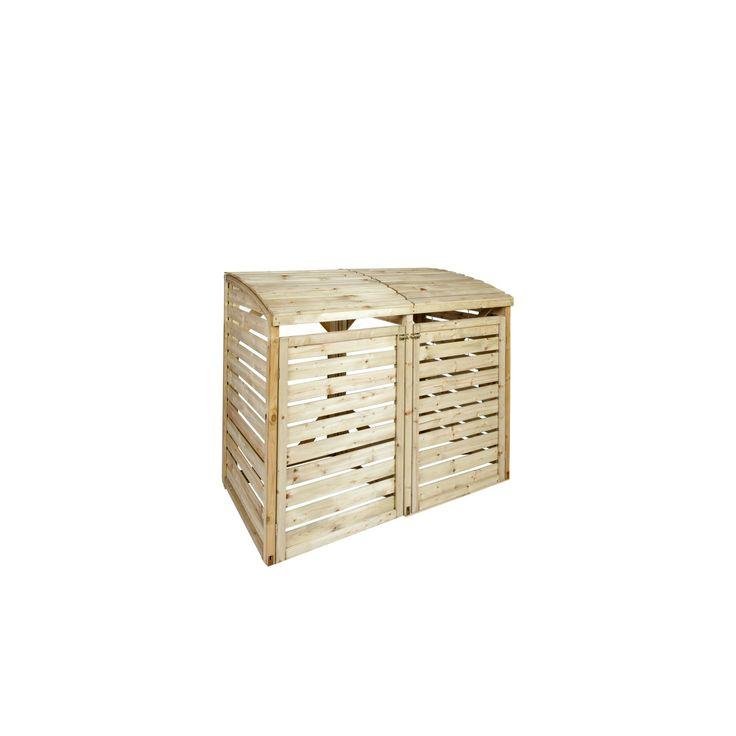 Kliko ombouw dubbel hout 480L