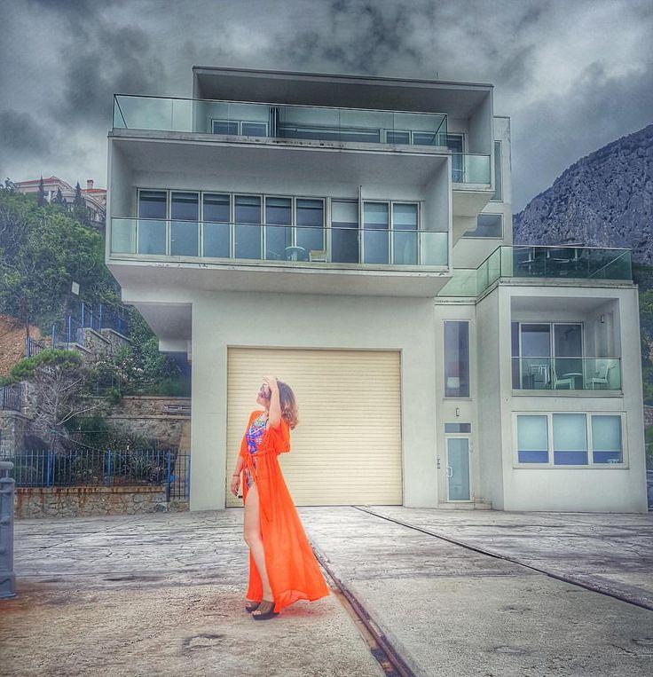 Туника BY JULIA GARNI пляжная одежда  пляжная мода пляжная туника 2016