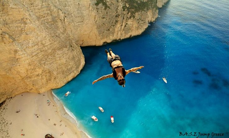 #basejumping #basejump #zakynthos #greece #travel