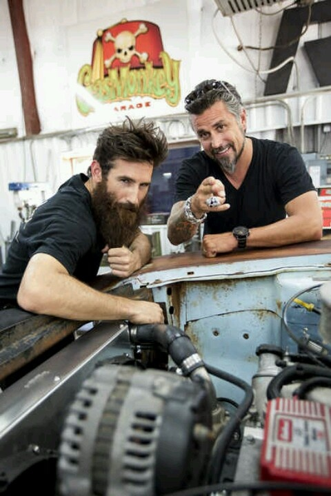 gas monkeys i would watch this just for richard the hot cars are a bonus man candy. Black Bedroom Furniture Sets. Home Design Ideas