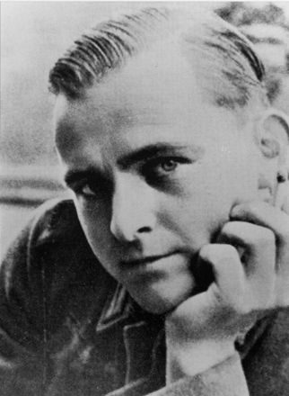 Christoph Probst ( 6 November 1919, Murnau am Staffelsee – 22 February 1943, Munich) was a student of medicine and a member of the Weiße Rose resistance group. On 22 February 1943, Christoph Probst and the Scholls were tried and sentenced together at the Volksgerichtshof by judge Roland Freisler. All three were sentenced to death by guillotine. Their sentences were carried out on the very same day at Stadelheim Prison in Munich.