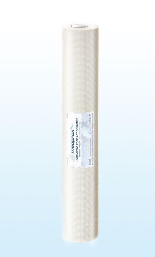 Prześcieradło jednorazowe MEDPROX line 60 cm, kolor biały