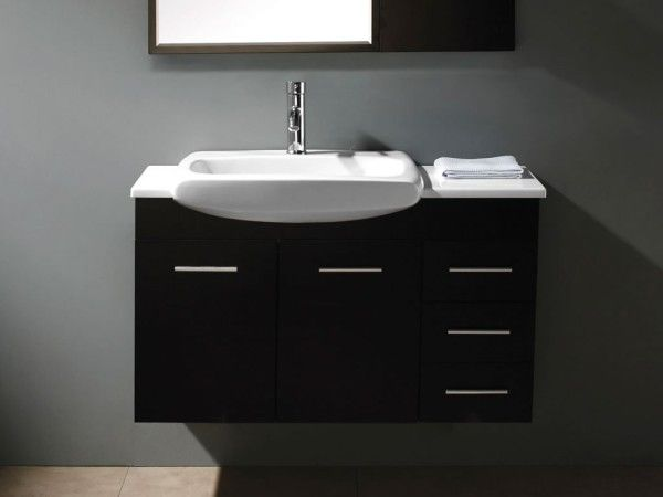 Bathroom Cabinets 55cm best 25+ bathroom semi recessed basins ideas on pinterest | semi