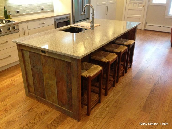 Barn Board Kitchen Island Google Search