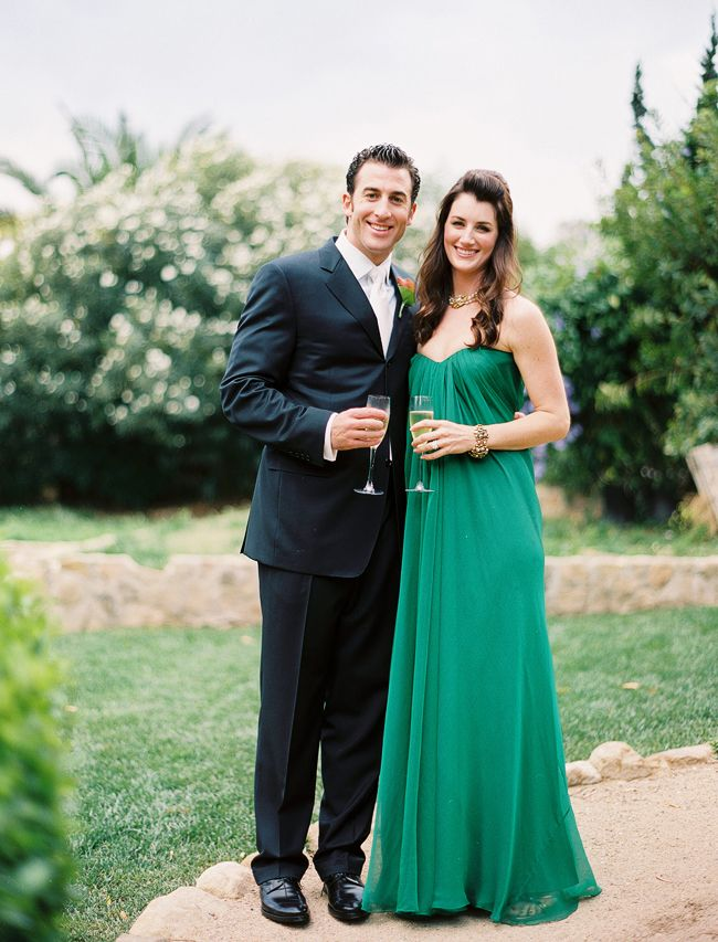Love that green! So fresh! Inspired by This Santa Barbara Green Wedding Dress Wedding! - Inspired By This