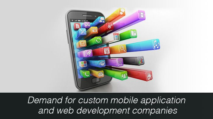 Demand for custom mobile application and web development companies! The exclusivity of a website is in trend these days and that is why there is a rise in demand for custom mobile applications and web development. #mobileapplicationdevelopmentcompany #webdevelopmentcompany
