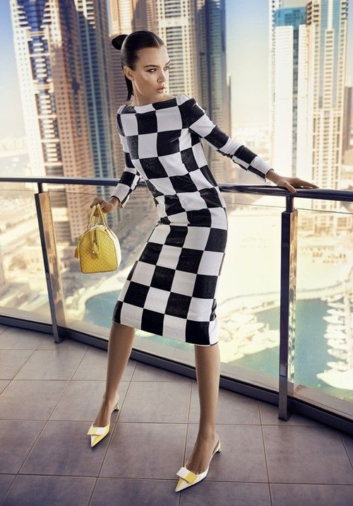 Josephine Skriver in Louis Vuitton, photographed by Jonas Bie for Eurowoman Spring 2013.