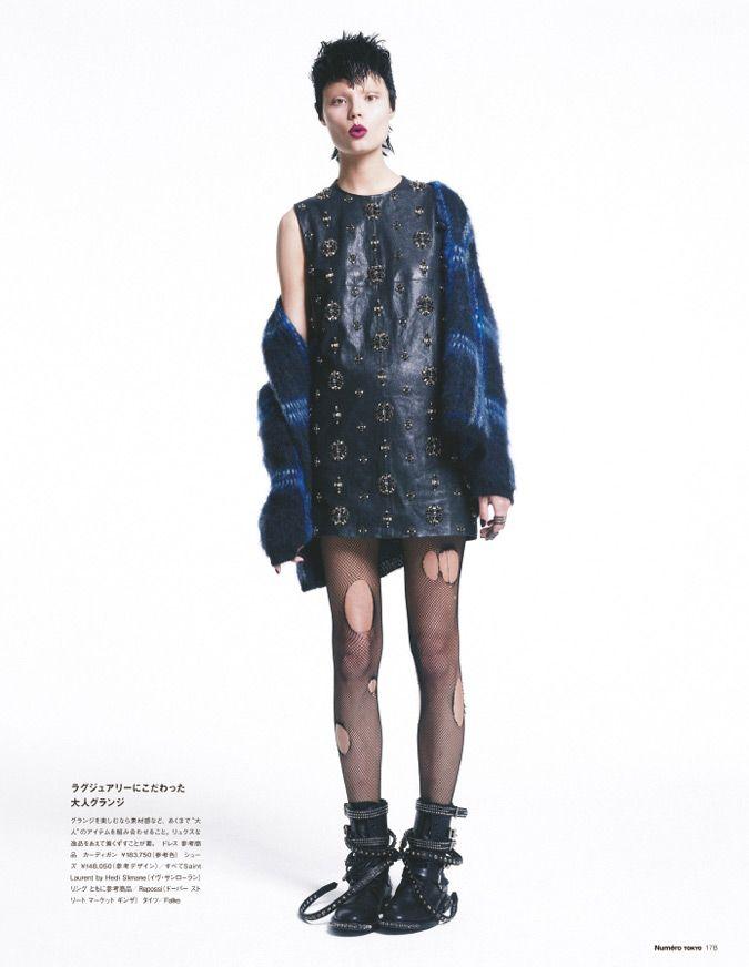 magdalena frackowiak model6 Magdalena Frackowiak Changes it Up for Numéro Tokyo by Sofia & Mauro