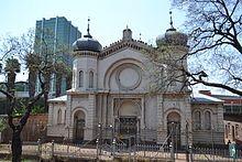 Die Hebreeuse gemeente van Pretoria is tussen 1890 en 1895 gestig, en in 1898 is die eerste sinagoge in Paul Krugerstraat ingewy.