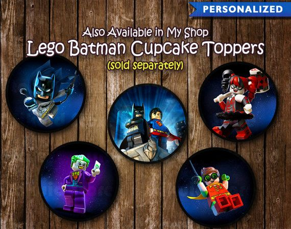 Lego Batman cumpleaños invitación Ticket  invitación de Lego