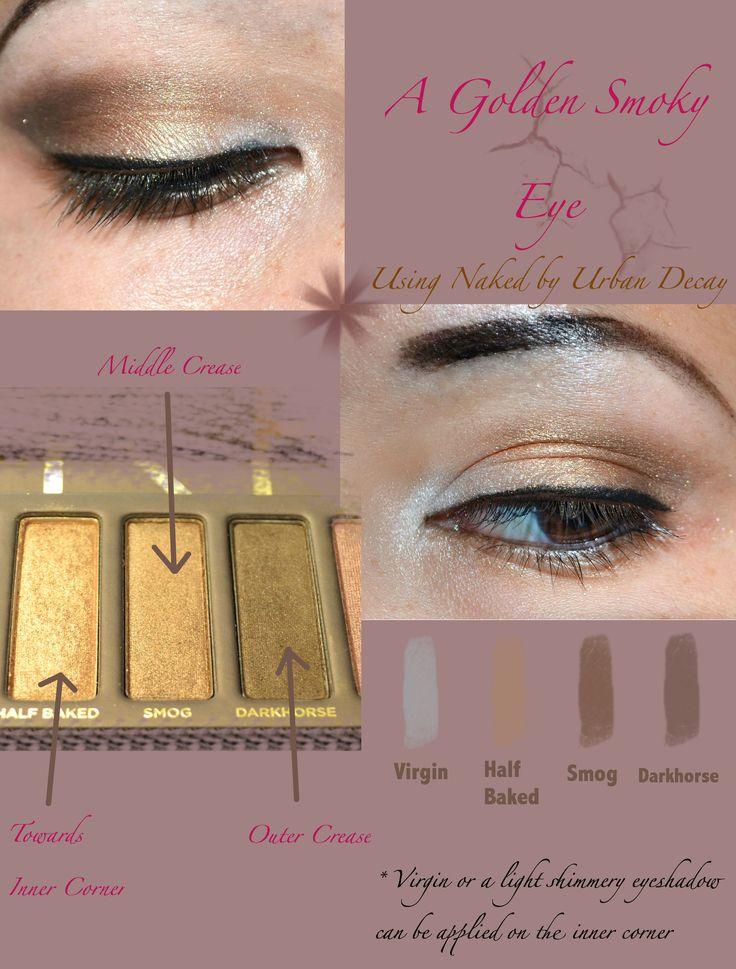 how to get smokey eyes using kajal