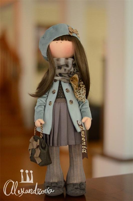Авторская кукла Татьяны Александровой: EVGENIA Оригинальная идея принадлежит Татьяне Коннэ. Рост куклы 46см., тело выполнено из кукольного трикотажа, наполнитель — холлофайбер, волосы - синтетически...