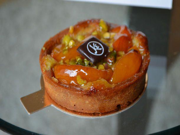 Apricot and Pistachio Tart at Maison Kayser  1294 Third Avenue, New York, NY 10021