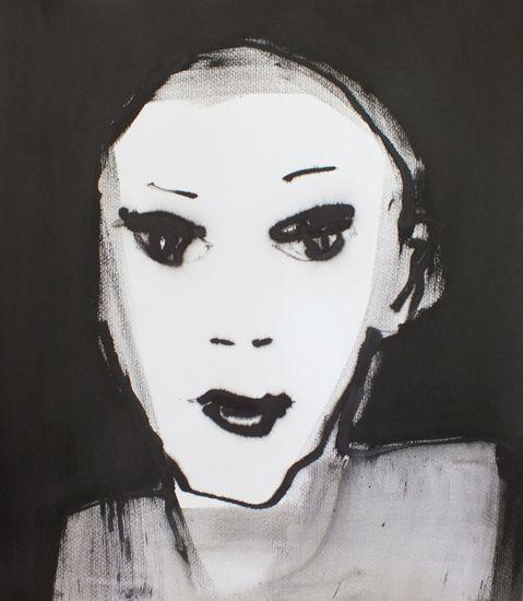 en face (50x60) by Marjanne Beeuwkes