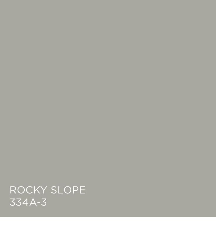Tuesday Trend Benjamin Moore 2014 Color Trends: Rocky Slope 334A-3 From The Yours Truly Palette.