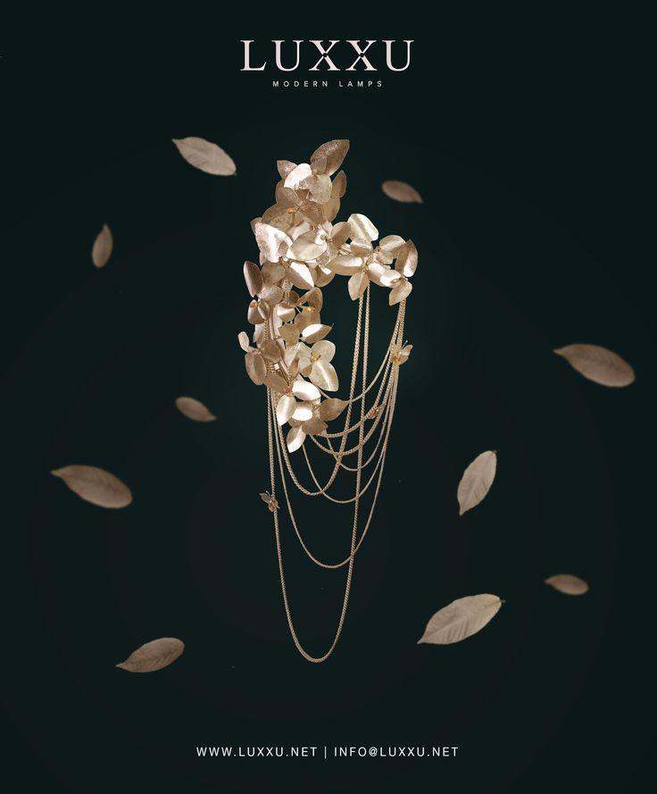 McQueen Wall   #lightingdesign #moderndesign #luxurylighting lamp design, ambient lighting, luxury homes . See more at www.luxxu.net
