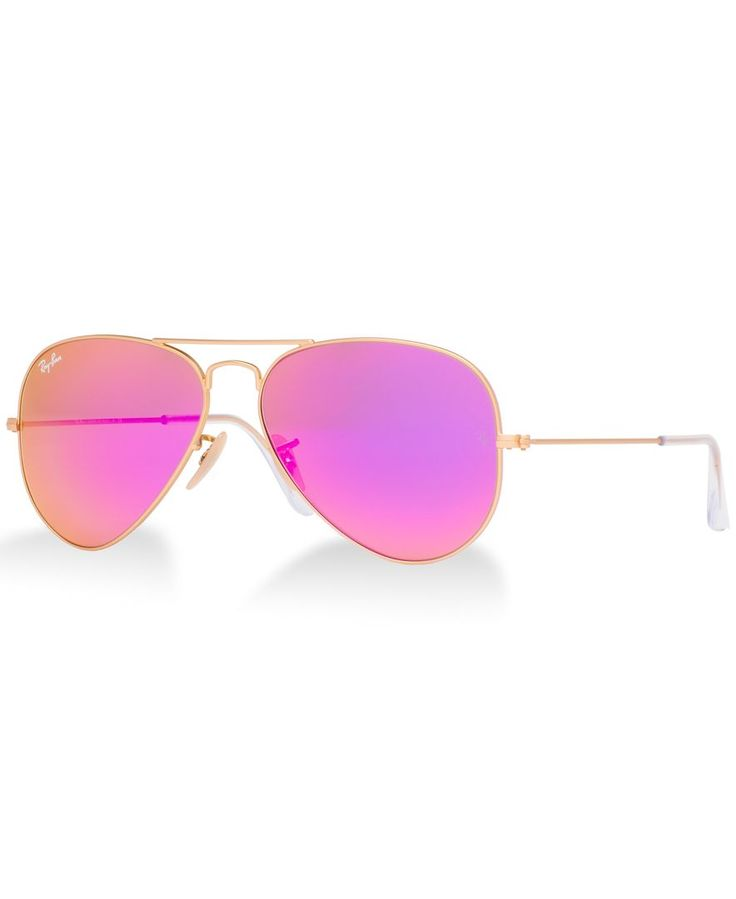 I just had to order the PINK Ray-Bans also. Sooo
