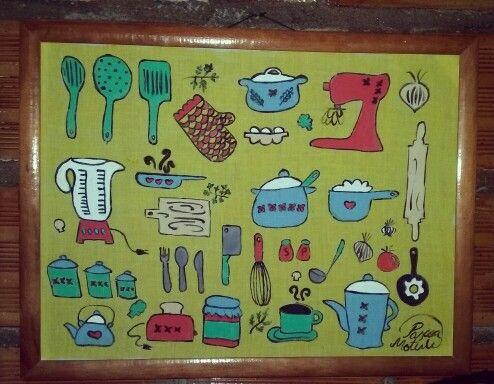 Decorativo cozinha - Pascoa Moterle