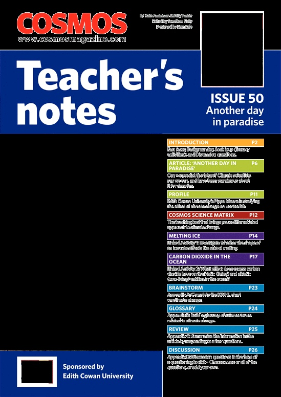 Teachers Notes VIC TAS : Issue 50, Page 1