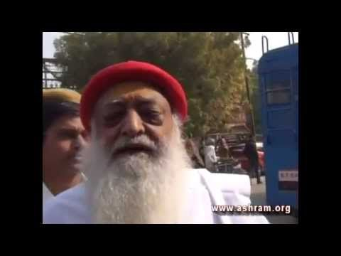 sant shri asaram bapu darshan 14th jan 2015 #saint #asaram