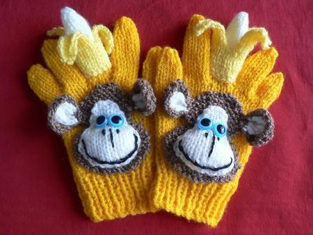 CHEEKY MONKEY gloves