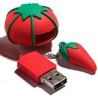 Tomato Pincushion USB Port