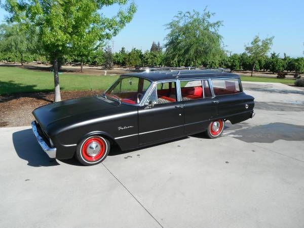1960 Wagon Reedley Ca In 2020 Wagon Ford Falcon Station Wagon