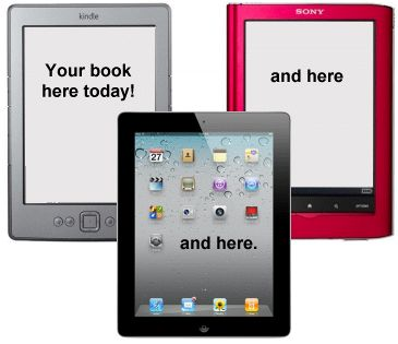 Jutoh makes it easy to create ebooks in popular formats that you can sell on many ebook sites, including Amazon's Kindle and Apple's iBooks.